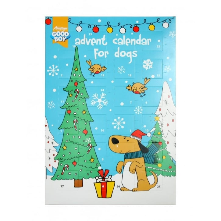 Armitage Good Boy Dog Advent Calendar 72g