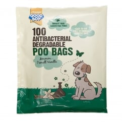Goodboy Antibacterial Degradable Poo Bags Pack 100