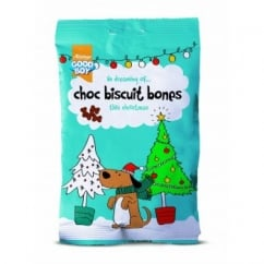 Armitage Goodboy Festive Choc Biscuit Bones for Dogs 75g