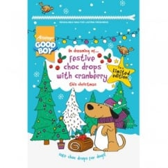 Armitage Goodboy Festive Cranberry Flavour Choc Drops for Dogs 200g