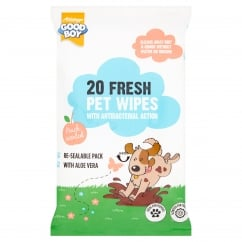 Goodboy Fresh Pet Wipes Pack 20