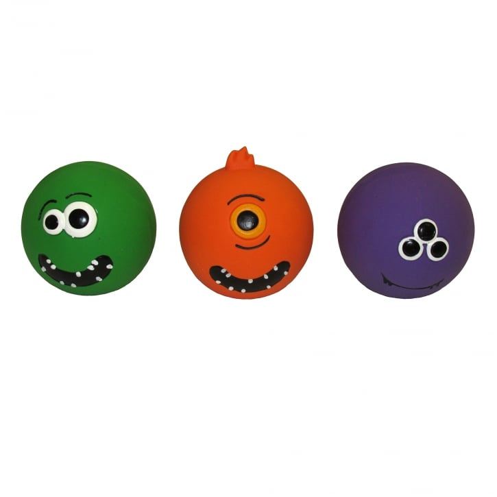 Armitage Goodboy Halloween Latex Monster Ball Dog Toy