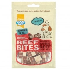 Goodboy Pawsley & Co Beef Bites Dog Treats 65g