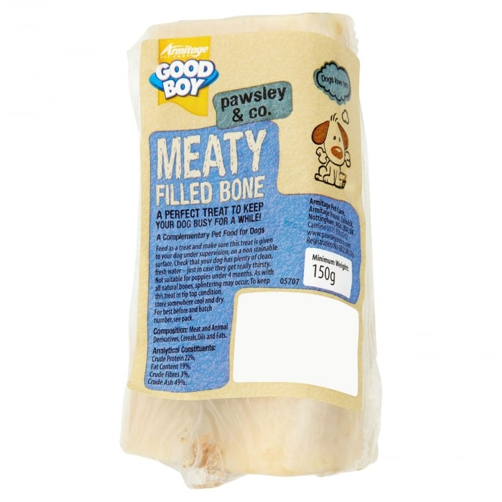 Armitage Goodboy Pawsley & Co Meaty Filled Bone Dog Treat 150g