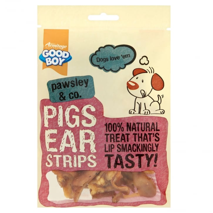 Armitage Goodboy Pawsley & Co Pigs Ears Strips 100g