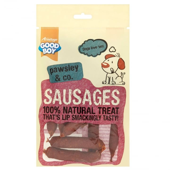 Armitage Goodboy Pawsley & Co Sausages Dog Treats 110g