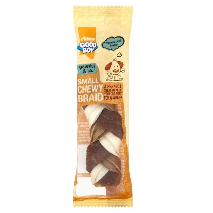 Armitage Goodboy Pawsley & Co Small Chewy Braid Dog Treat 55g
