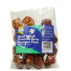 Goodboy Pawsley & Co Small Knotted Beef Bone Dog Treat Pack 8