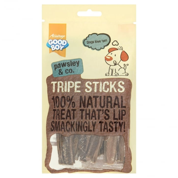 Armitage Goodboy Pawsley & Co Tripe Sticks Natural Dog Treats 100g