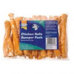 Armitage Goodboy Rawhide Chicken Rolls for Dogs Bumper Pack 340g