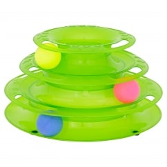 Goodgirl Batting Ball Stack Cat Toy