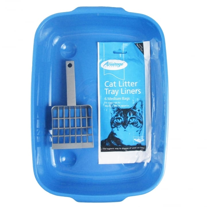 Armitage Goodgirl Cat Litter Tray Set