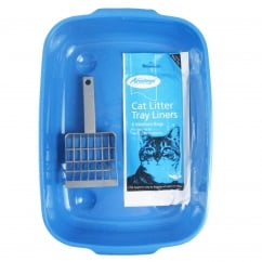 Goodgirl Cat Litter Tray Set
