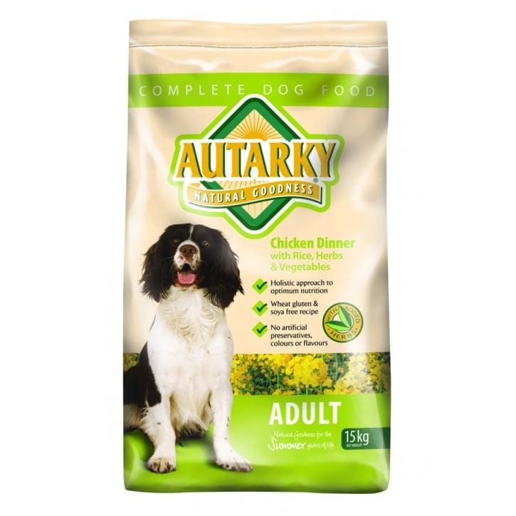 Autarky Adult Complete Dog Food Chicken 15kg Vat Free Feedem