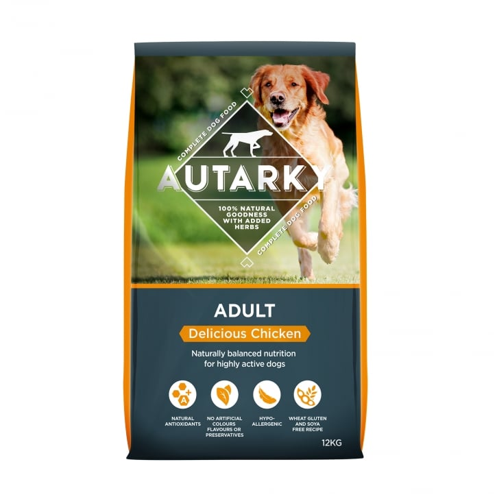 Autarky Adult Delicious Chicken Dog Food 12kg
