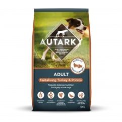 Adult Tantalising Turkey & Potato Dog Food 12kg