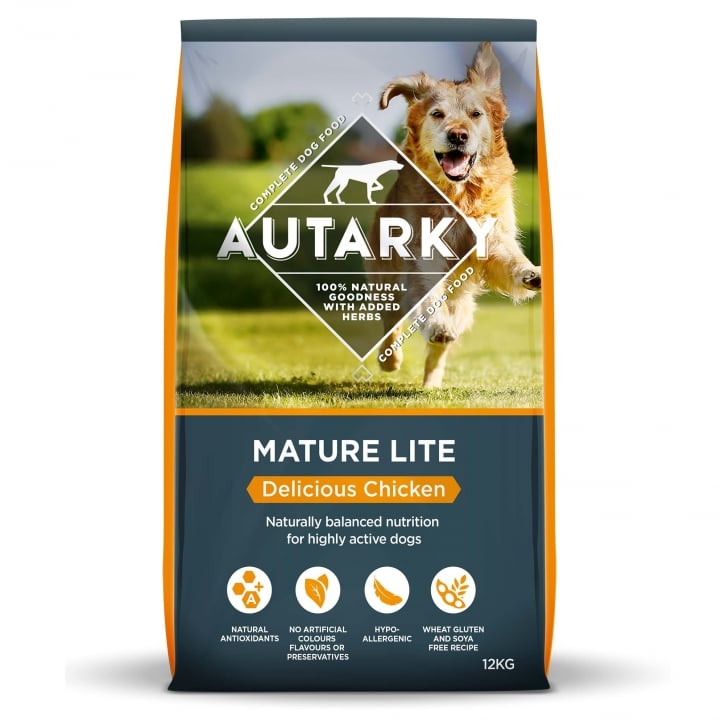 Autarky Mature Lite Delicious Chicken Dog Food 12kg