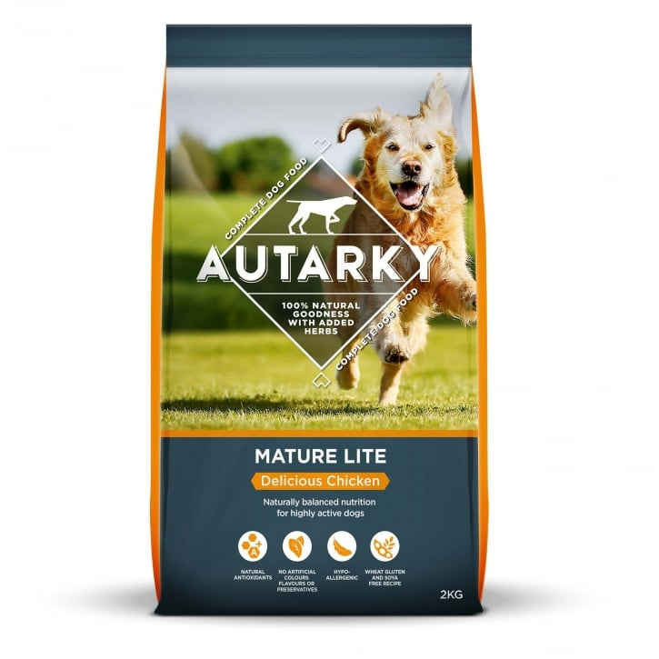 Autarky Mature Lite Delicious Chicken Dog Food 2kg