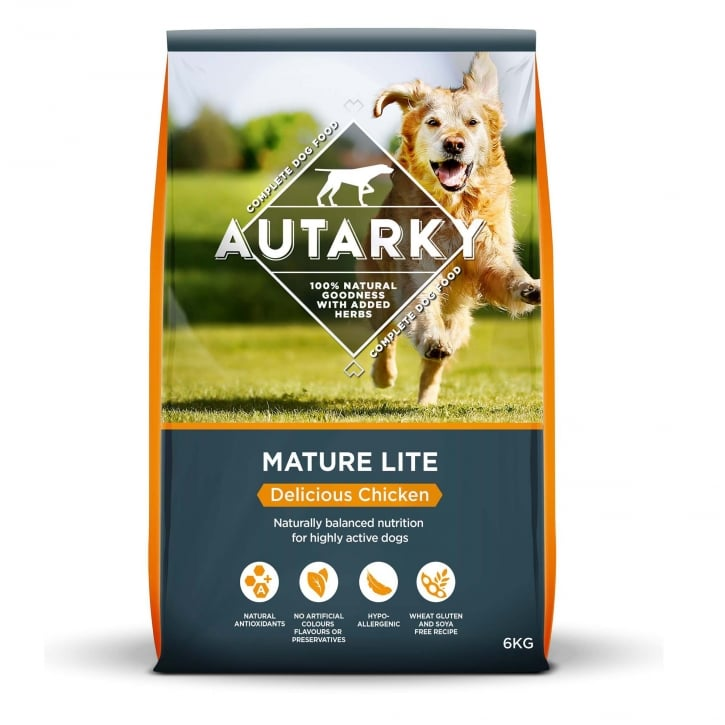 Autarky Mature Lite Delicious Chicken Dog Food 6kg