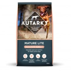 Autarky Mature Lite Succulent Salmon Dog Food 12kg