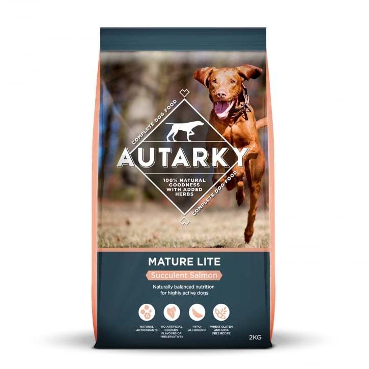 Autarky Mature Lite Succulent Salmon Dog Food 2kg