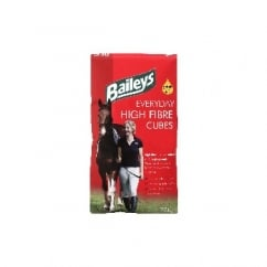 Baileys Everyday High Fibre Cubes Horse Feed 20kg