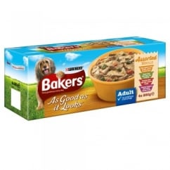 Bakers As Good As It Looks Adult Assorted Menus 4 x 280g