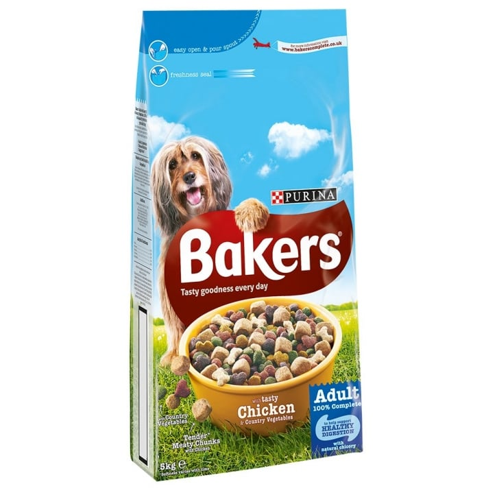 Bakers Chicken & Country Vegetables Adult Dog Food 5kg