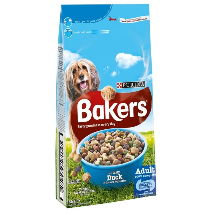 Bakers Duck & Country Vegetables Adult Dog Food 5kg