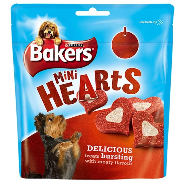 Bakers Mini Hearts Dog Ttreat 98g