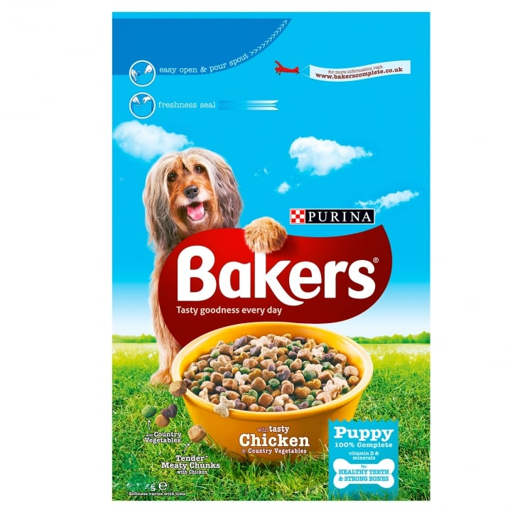Bakers Puppy Chicken & Vegetable Dog Food 12.5kg