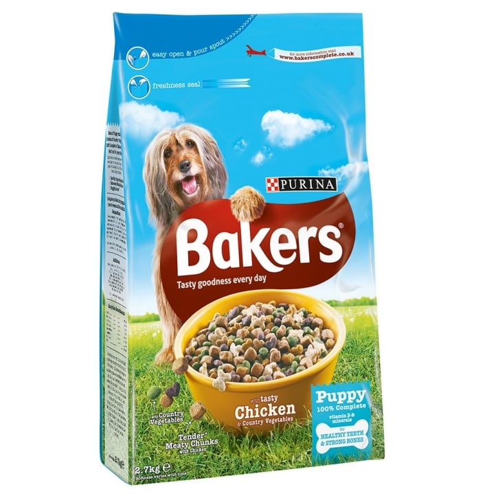 Bakers Puppy with Tasty Chicken & Country Vegetables 2.7kg
