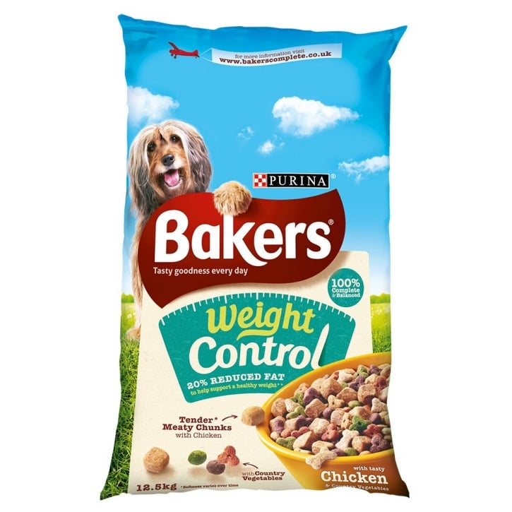 Bakers Weight Control with Tasty Chicken & Country Vegetables 12.5kg