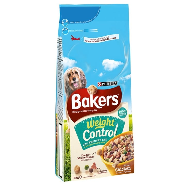 Bakers Weight Control with Tasty Chicken & Country Vegetables 5kg