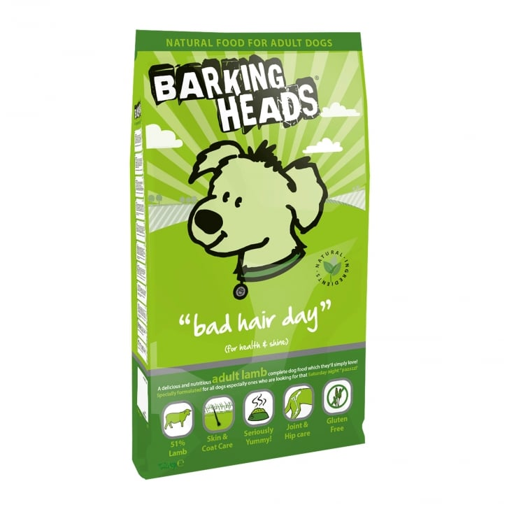 Barking Heads Bad Hair Day Adult Dog Food 6kg