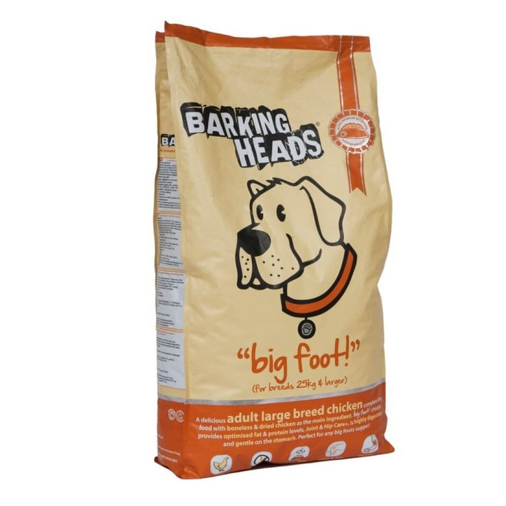 Barking Heads Big Foot Tender Loving Care Dog Food Chicken 12kg