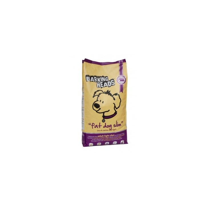 Barking Heads Fat Dog Slim Dog Food Chicken 12kg