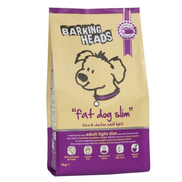 Barking Heads Fat Dog Slim Dog Food Chicken 2kg