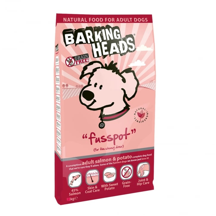 Barking Heads Fusspot Adult Dog Food 2kg