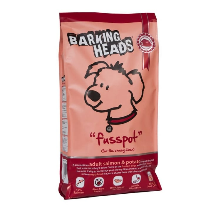 Barking Heads Fusspot Adult Dog Food Salmon & Potato 12kg