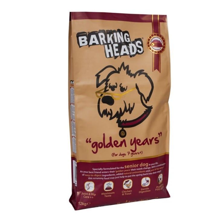 Barking Heads Golden Years Dog Food Chicken & Trout 12kg