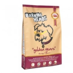 Barking Heads Golden Years Dog Food Chicken & Trout 6kg