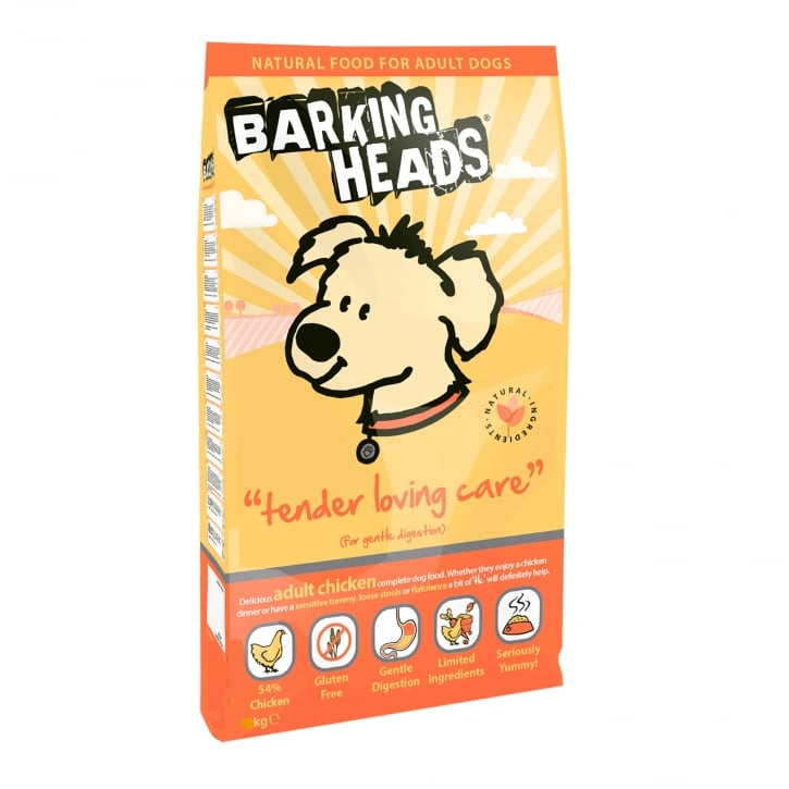 Barking Heads Tender Loving Care Adult Dog Food 6kg