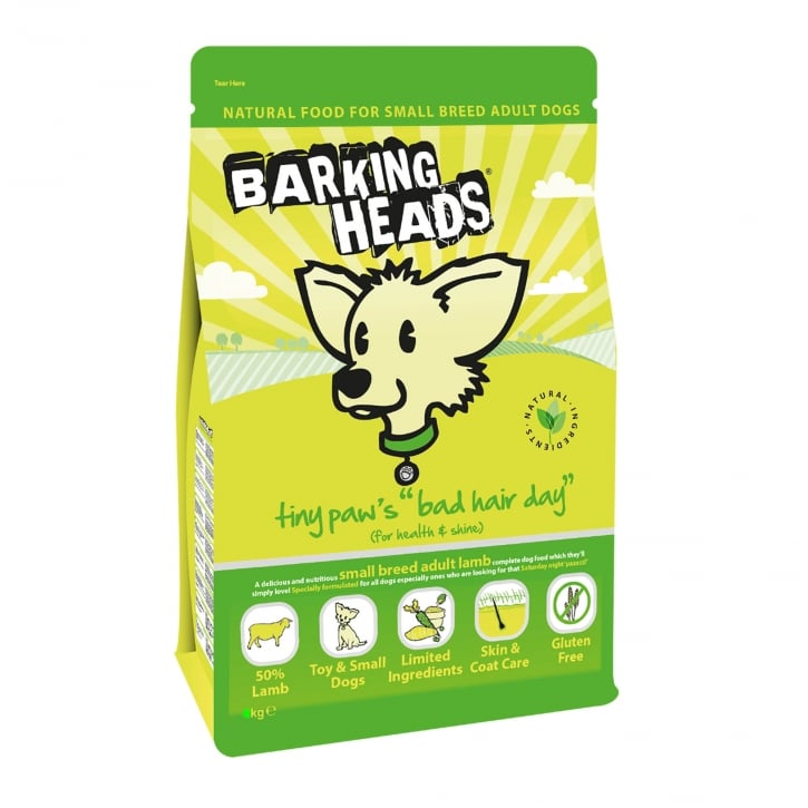 Barking Heads Tiny Paws Bad Hair Day Small Breed Adult Dog Food 4kg