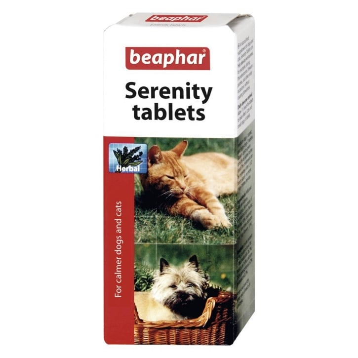 Beaphar Calming Tablets For Dogs & Cats - 20 tablets