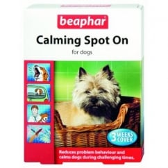 Beaphar Dog Calming Spot On 3 Pipettes