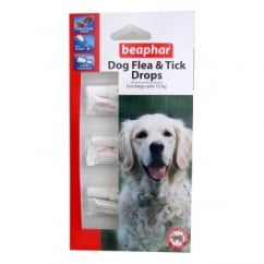 Dog Flea Drops - 12 Week Protection Large Dogs