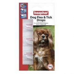 Dog Flea Drops - 12 Week Protection Small Dogs