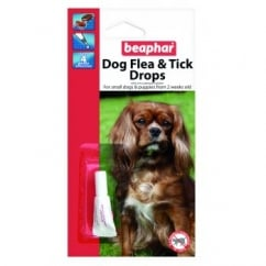 Dog Flea Drops - 4 Week Protection Small Dogs