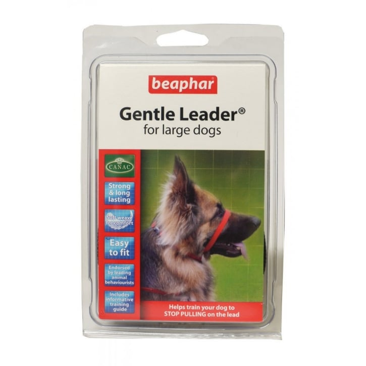 Beaphar Gentle Dog Leader - Large - Red
